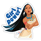 Disney Princesses sticker 24