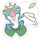 Hungry Frogs Official Stickers sticker 1