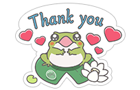 Hungry Frogs Official Stickers sticker 2