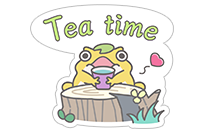 Hungry Frogs Official Stickers sticker 3