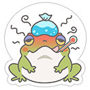 Hungry Frogs Official Stickers sticker 4