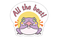 Hungry Frogs Official Stickers sticker 7
