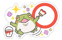 Hungry Frogs Official Stickers sticker 10