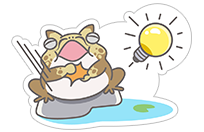 Hungry Frogs Official Stickers sticker 13