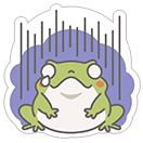 Hungry Frogs Official Stickers sticker 15