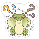 Hungry Frogs Official Stickers sticker 17