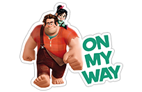 Ralph Breaks the Internet sticker 1