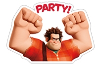 Ralph Breaks the Internet sticker 9