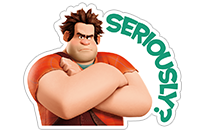 Ralph Breaks the Internet sticker 11