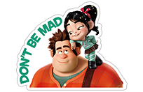 Ralph Breaks the Internet sticker 14