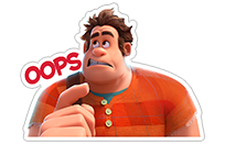 Ralph Breaks the Internet sticker 17