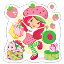Strawberry Shortcake sticker 3