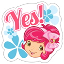 Strawberry Shortcake sticker 6
