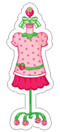 Strawberry Shortcake sticker 8