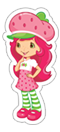 Strawberry Shortcake sticker 10