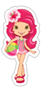 Strawberry Shortcake sticker 26