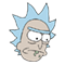 Rick and Morty Moji sticker 9