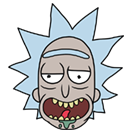 Rick and Morty Moji sticker 10