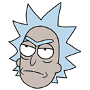 Rick and Morty Moji sticker 11