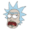 Rick and Morty Moji sticker 12