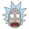 Rick and Morty Moji sticker 14