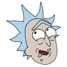 Rick and Morty Moji sticker 15