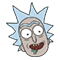 Rick and Morty Moji sticker 16