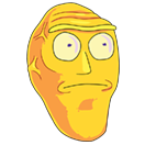 Rick and Morty Moji sticker 18