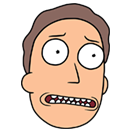 Rick and Morty Moji sticker 26