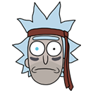 Rick and Morty Moji sticker 34