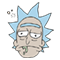 Rick and Morty Moji sticker 36