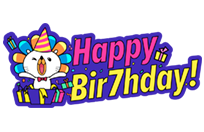 Our Birthday, Your Party! sticker 1
