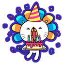 Our Birthday, Your Party! sticker 5