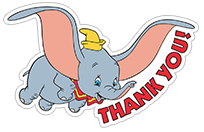 Dumbo sticker 5