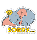 Dumbo sticker 7