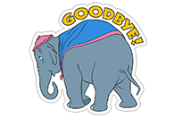 Dumbo sticker 12