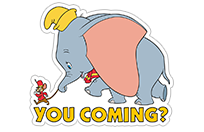 Dumbo sticker 13