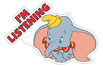Dumbo sticker 18