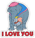 Dumbo sticker 20