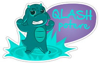 QLASH Gaming sticker 11