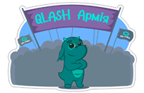 QLASH Gaming sticker 3