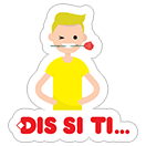 DIS stikeri sticker 22