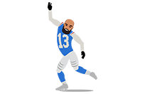 Fantasy Football Stars sticker 8