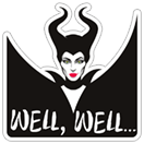 Maleficent sticker 11