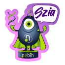 Nébih csetbot sticker 1