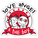 Love Angel & the Boy sticker 1