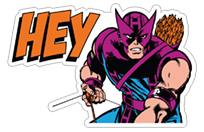 Marvel Heroes sticker 1