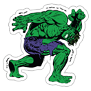 Marvel Heroes sticker 2