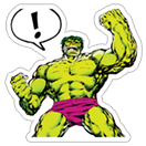 Marvel Heroes sticker 6