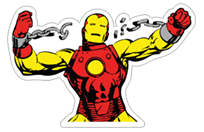 Marvel Heroes sticker 8